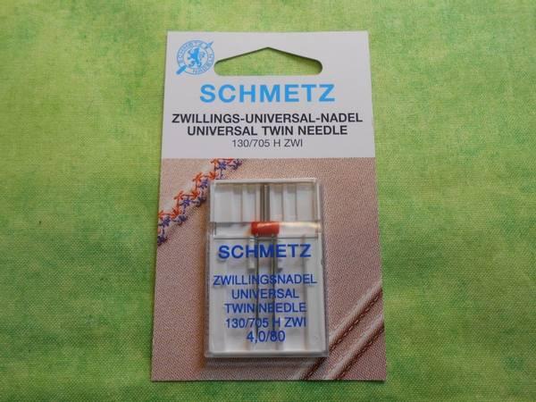 Bilde av (23F39) Tvillingnål 4.0 80 schmetz ZWI (i16)