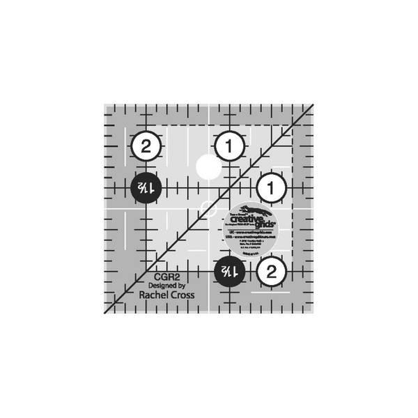 Bilde av Linjal 2.5 x 2.5 inch CGR2