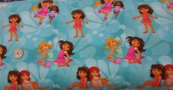Bilde av Dora - dansende Dora m venner turkis