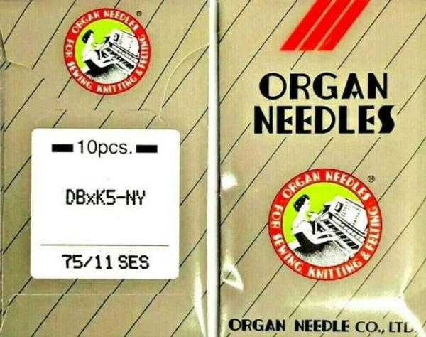 Bilde av (2F16A) Nåler 75/11 SES DBxK5 - a 10 nåler industri Organ
