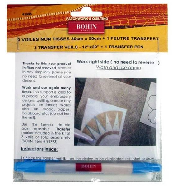 Bilde av Bohin 3 transfer veils - 1 transfer pen 62595