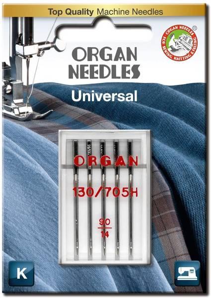 Bilde av (23G4) Nål Organ Universal 90/14 - 5 pk (2J3)