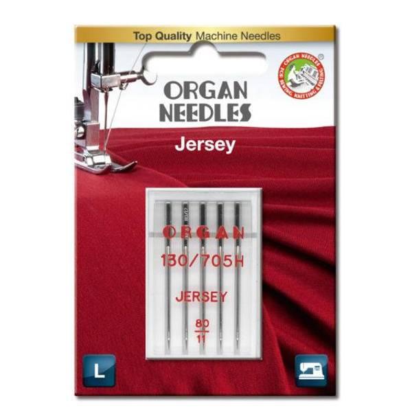 Bilde av (23G32) Nål Organ Jersey 5pk 80/11 (2K7/2K8/2K5)
