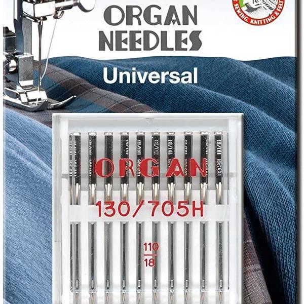 Bilde av (23G13) Nål Organ Universal 110, 10 pc