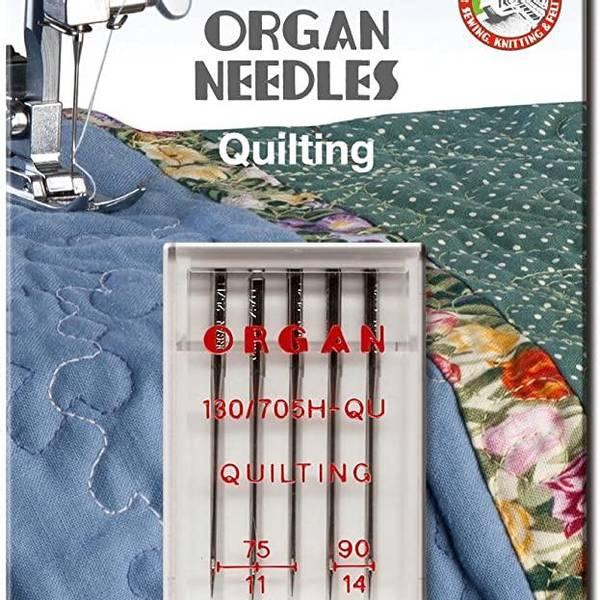 Bilde av (23G19) Nål Organ Quilting 75-90, 5 pk