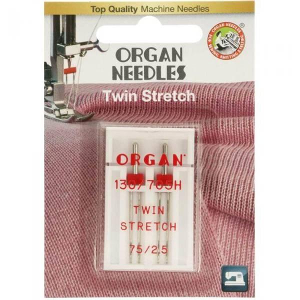 Bilde av (23G23) Nål Organ Tvilling Stretch 2,5mm 75, 2 pk (2K6)