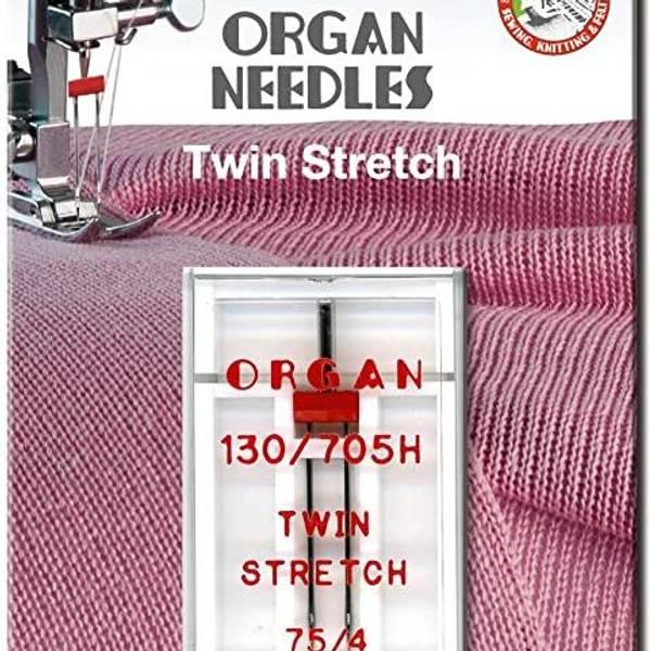 Bilde av (23G24) Nål Organ Tvilling Stretch 4mm 75 - 1 pk (2C1 -2H8)