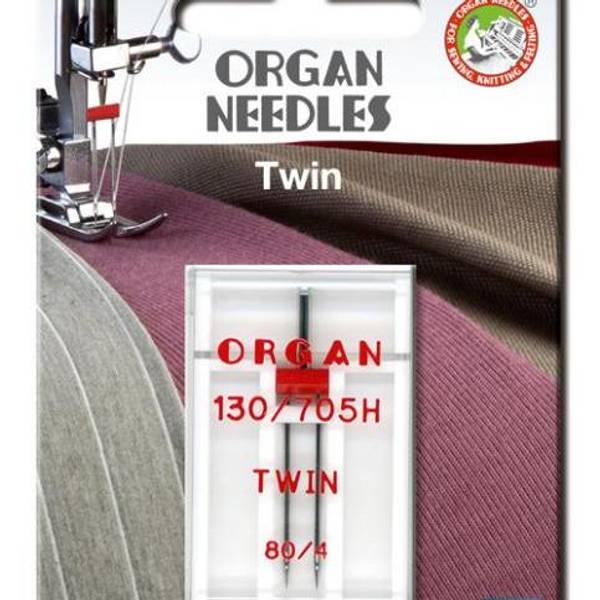 Bilde av (23G25) Nål Organ Tvilling 4mm 80, 1 pk (2i10-2i15)