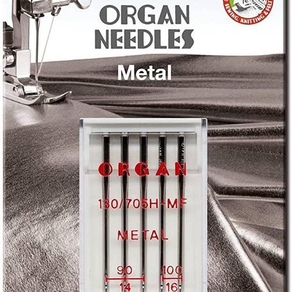 Bilde av (23G28) Nål Organ Metall 90-100, 5 pk (3D13)