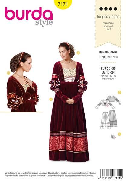 Bilde av Burda Mønster B7171 Dress Sewing