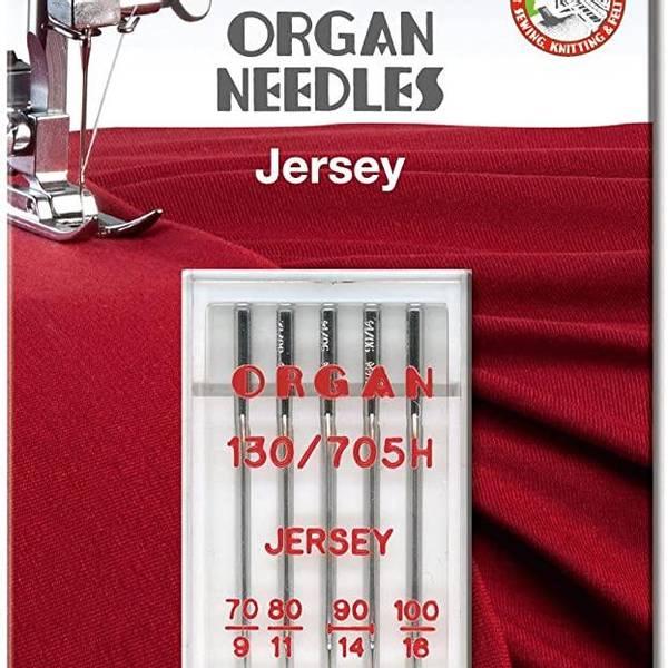 Bilde av (23G30) Nål Organ Jersey 5pk70/1stk-80/1stk-90/2stk-100/1 (4B2)