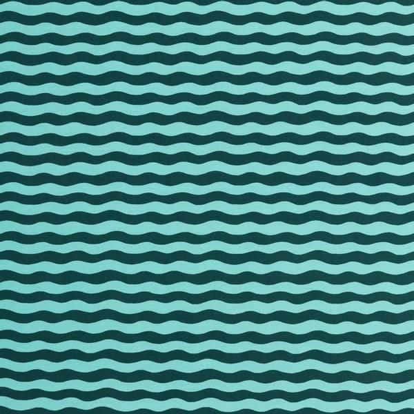 Bilde av Woody - waves lys turkis-mørk blå