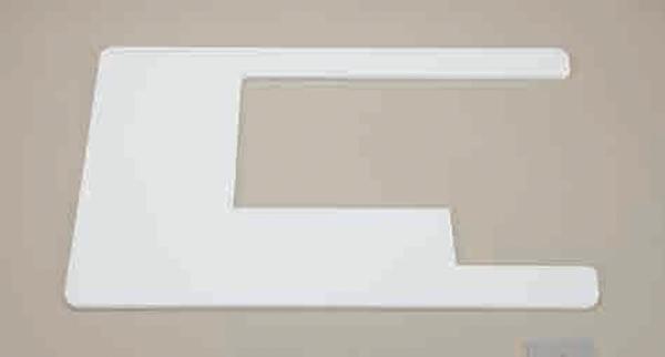 Bilde av (20B) Illeggsplate C MC11000/ Elna9600/9500 til industribord