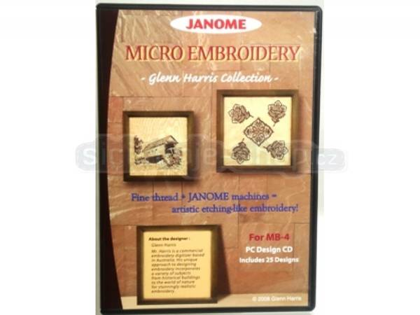 Bilde av (20C) Micro Brodering CD-Rom Glenn Harris Collection