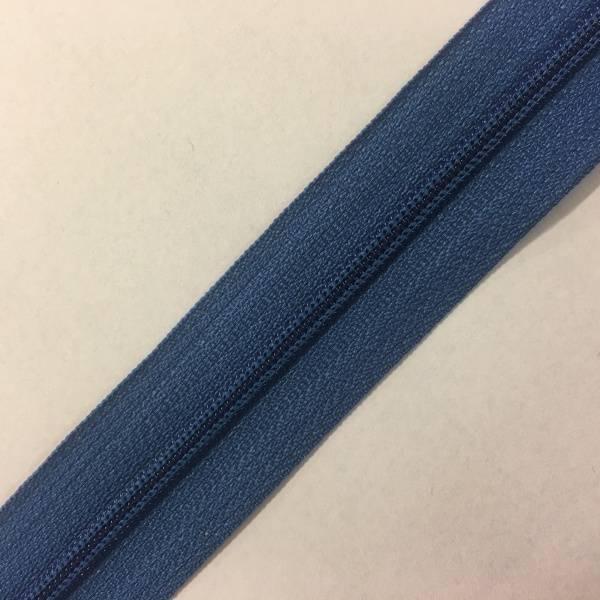 Bilde av Cose Glidelås blå 4mm - 1m