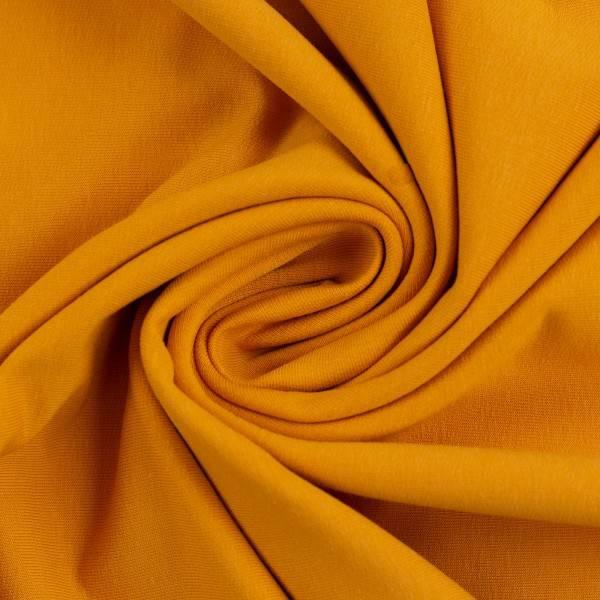 Bilde av Maike, French Terry 000313 Plain, mustard yellow