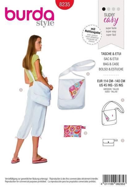 Bilde av Burda Mønster B8235 Bag & Case Sewing