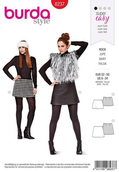 Bilde av Burda Mønster B8237 Skirt Sewing