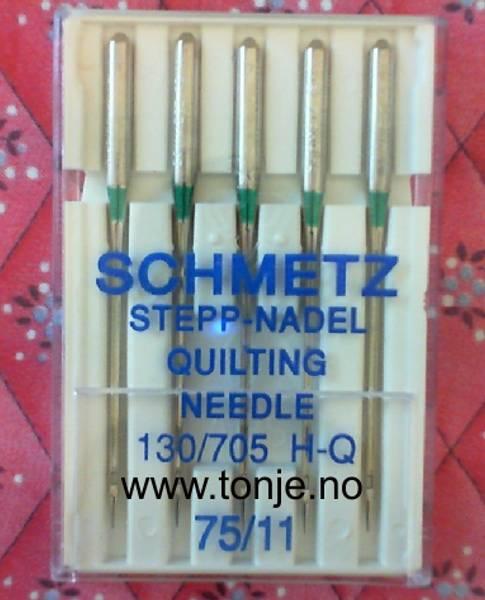 Bilde av (23E35) Nåler Quilt H-Q 75 5-pakk SCHMETZ (4C6)
