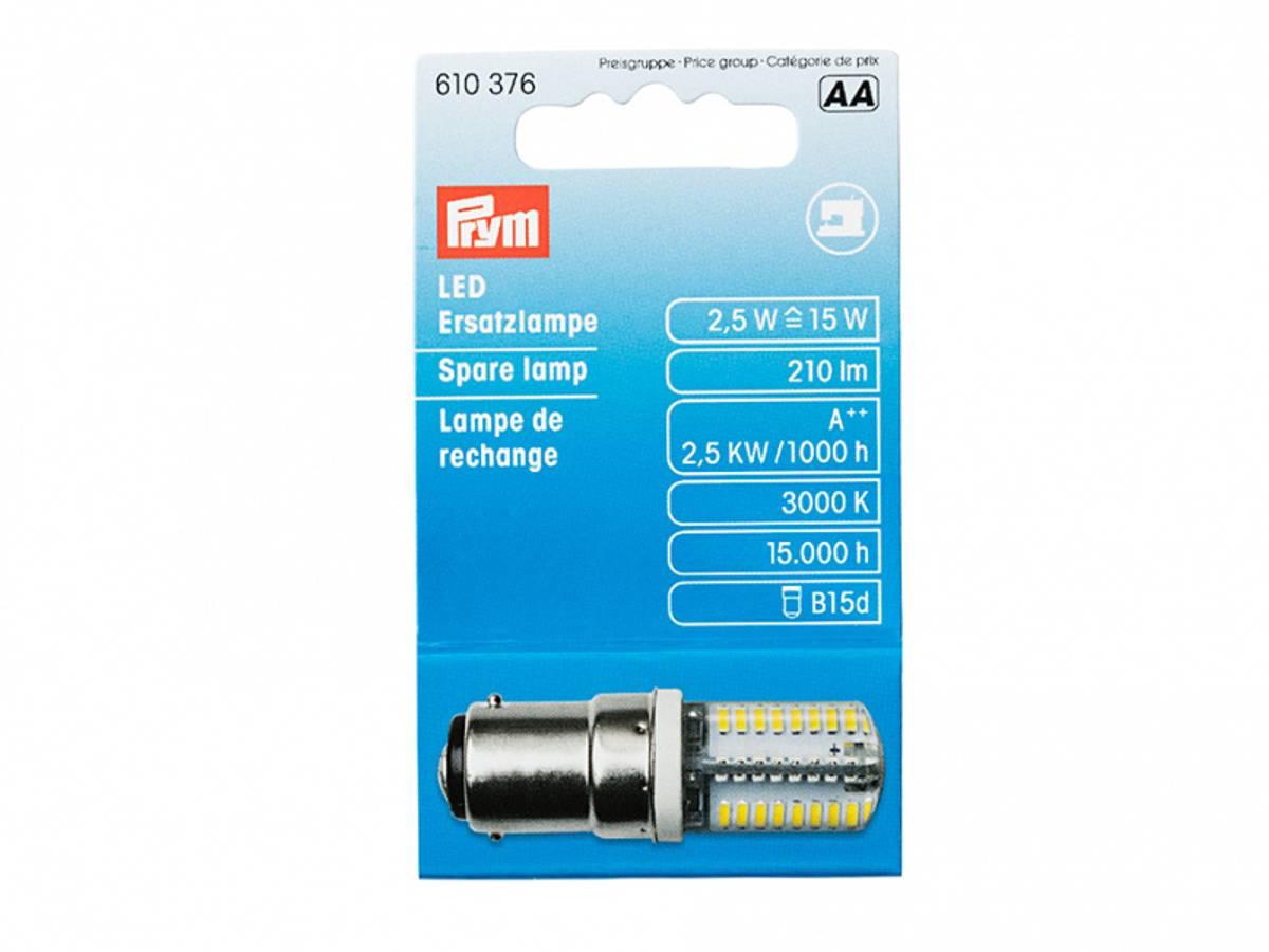 (2E16) Prym lyspære LED til symaskin 610376 bajonett
