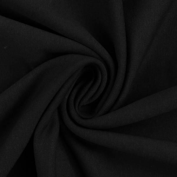 Bilde av Maike, French Terry 000299 Plain, black