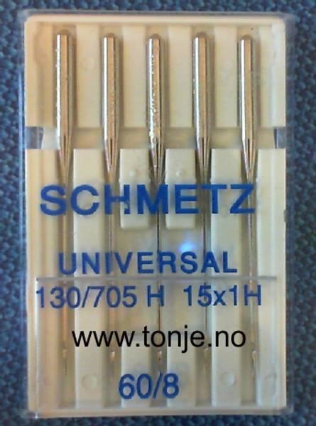 Bilde av (23E1) Nåler Universal 60 130/705H 5stk SCHMETZ