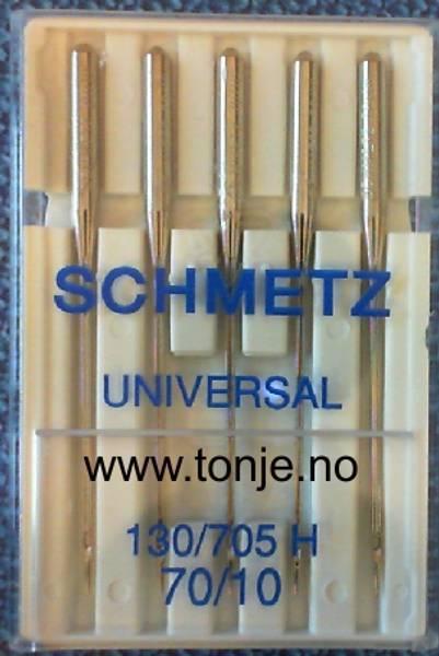 Bilde av (23E2) Nåler Universal 70 130/705H 5stk SCHMETZ