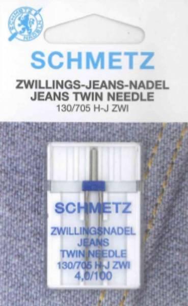 Bilde av (23F31) Nåler  Tvillingnål Jeans 100 4,0mm  H-S ZWI  130/705