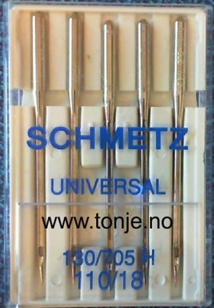 Bilde av (23E6) Nåler Universal 110 130/705H 5stk SCHMETZ