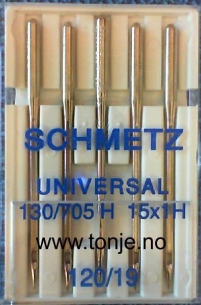 Bilde av (23E7) Nåler Universal 120 130/705H 5stk SCHMETZ