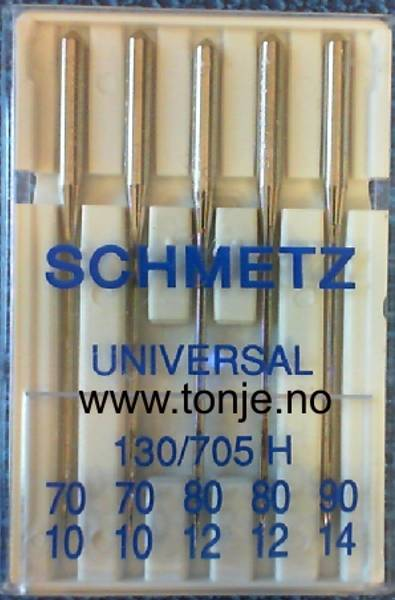 Bilde av (23E8) Nåler Universal 2x70, 2x80, 1x90 130/705H 5stk SCHME (2N1