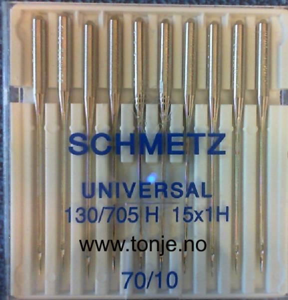 Bilde av (23E10) Nåler Universal 70 130/705H 10stk SCHMETZ