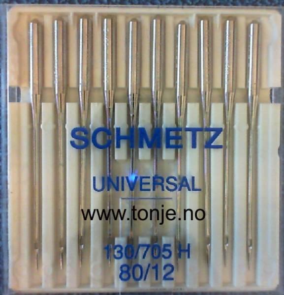 Bilde av (23E11) Nåler Universal 80 130/705H 10stk SCHMETZ