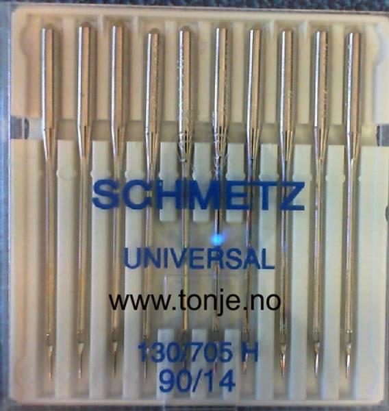 Bilde av (23E12) Nåler Universal 90 130/705H 10stk SCHMETZ.