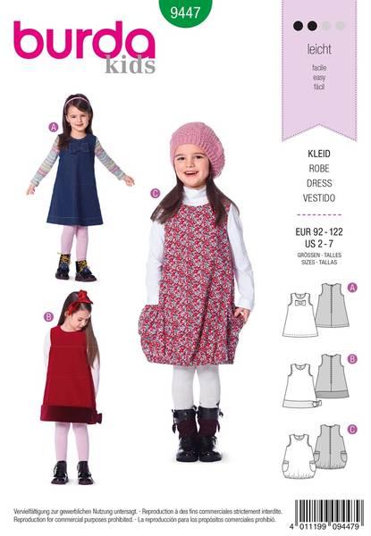 Bilde av Burda Mønster B9447 Burda Mønster Dress Sewing