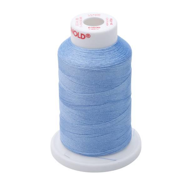 Bilde av 61030 Poly No40 Polyester - 1000m på  pappspole (ikke miniking)