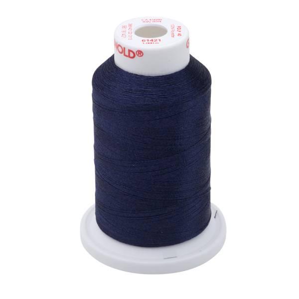 Bilde av 61421 Poly No40 Polyester - 1000m på  pappspole (ikke miniking)r