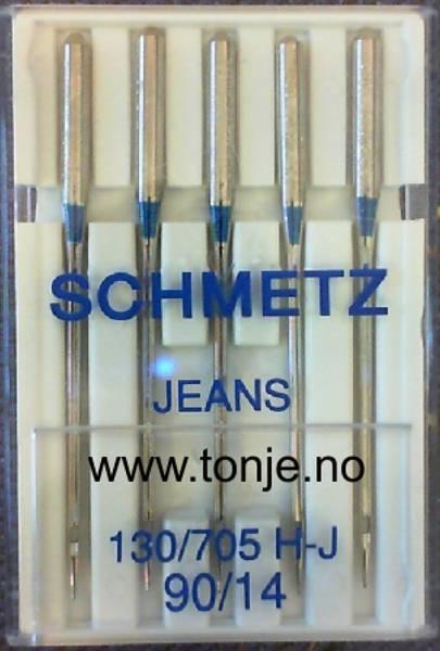 Bilde av (23E17) Nåler Jeans H-J 90 130/705H 5stk SCHMETZ