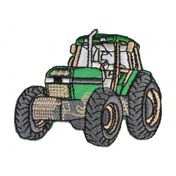 Bilde av Grønn traktor strykemerke 6x6,5cm