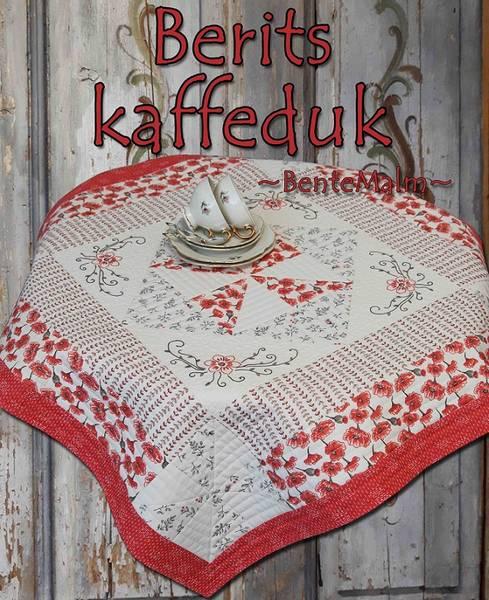 Bilde av 212 Bente Malm Mønster Berits kaffeduk