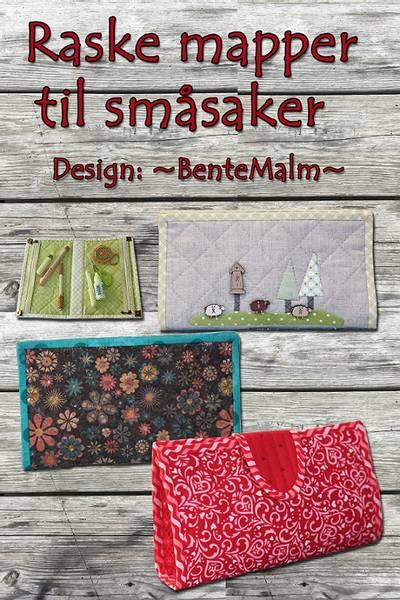 Bilde av 218 Bente Malm Mønster Raske mapper til småsaker