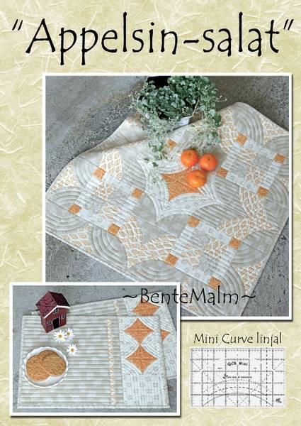 Bilde av 150 Bente Malm Mønster  Appelsin-salat