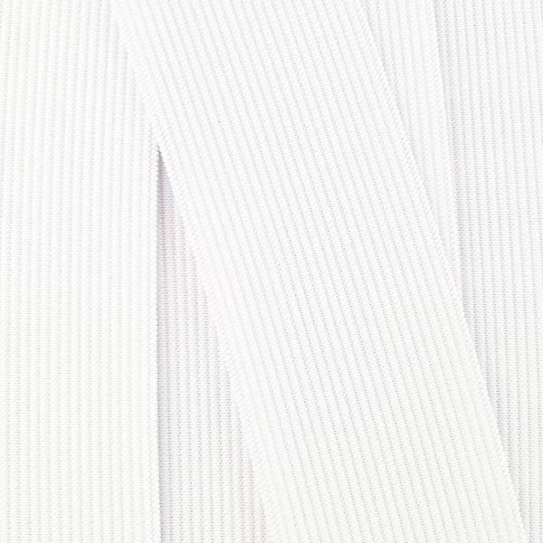Hvit Linningstrikk 40 mm