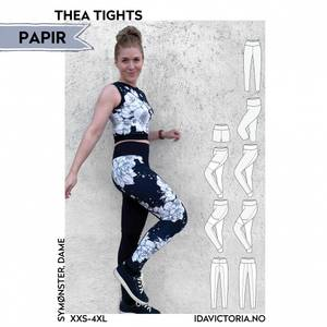 Bilde av Thea Tights (XXS-4XL) - Dame - Ida Victoria