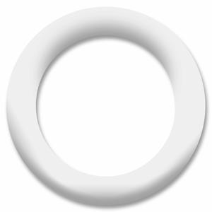 Bilde av Hvit Ring Snapsource metalltrykknapp - 10 stk