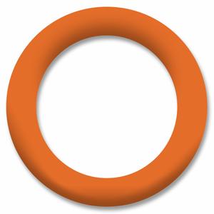 Bilde av Orange Ring Snapsource metalltrykknapp - 10 stk