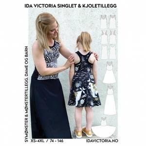 Bilde av Singlet & Kjoletillegg (XS-4XL + 74-146) - Ida Victoria