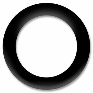 Bilde av Sort Ring Snapsource metalltrykknapp - 10 stk