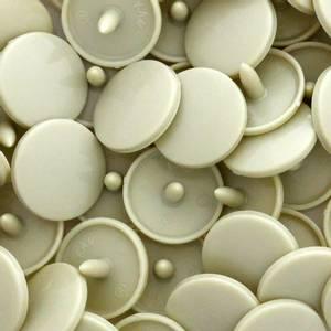 Bilde av Sand Blank KAM plasttrykknapp 25 stk (B23)