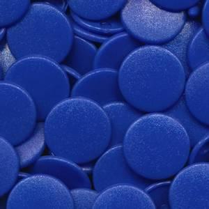 Bilde av Royal Matt KAM plasttrykknapp 25 stk (M16)